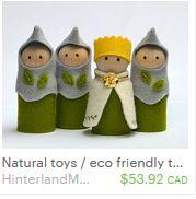 Natural Eco friendly toys : Waldorf Play & Kids by HinterlandMama