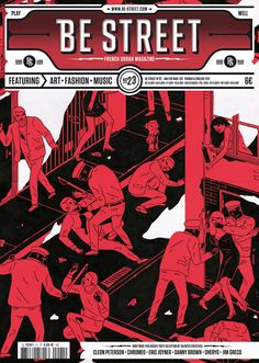 Be Street #23 – Cover by Cleon Peterson