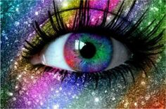 DIY Diamond Painting Colors fluorescent eyes full Square Diamond embroidery Kits Pictures of cr Pretty Eyes, Cool Eyes, Beautiful Eyes, Rainbow Eyes, Rainbow Colors, Fire Rainbow, Rainbow Star, Dibujos Tumblr A Color, Crazy Eyes
