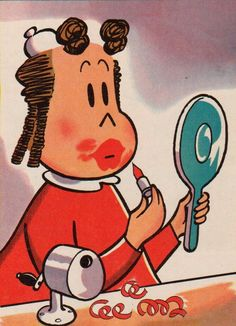 Little Lulu  When I had my wisdom teeth taking out this is who I thought I looked like pam