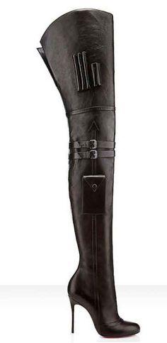 Christian Louboutin Seann Girl Thigh High Boots