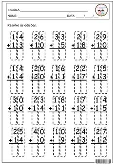 Double Digit Addition Worksheets First Grade Classroom Freebies, Math Classroom, Kindergarten Math, Teaching Math, Preschool, Addition Worksheets First Grade, Math Addition, Addition And Subtraction, 2nd Grade Math Worksheets