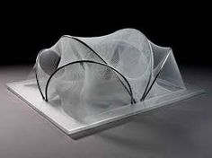 Image result for le corbusier model wire and string