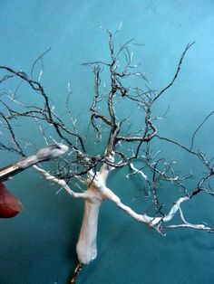 Wire tree - putting on that resilient coating