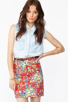 Charlie Skirt Floral