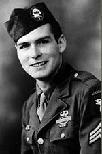 Sgt William M. True. Served with 506th PIR Company F,  2nd Battalion, from training at Camp Toccoa, Georgia, through Normandy, Holland, Bastogne and the Battle of the Bulge, to Alsace and Berchtesgaden.