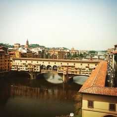 Ponte Vecchio in Florence Italy. It holds different kinds of shops and houses.  #italy #firenze #pontevecchio #2012 #europe #photography #photos #all_shots #photooftheday #potd #picoftheday #colorful #style #look #igers #pictures #beautiful