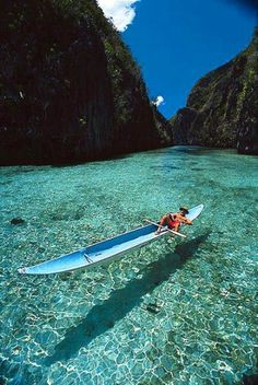 Crystal Clear in Busuanga, Philippines: