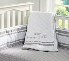 Harper Nursery Bedding #PotteryBarnKids