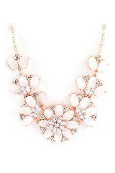 Mother of Pearl Tilly Necklace on Emma Stine Limited