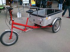 Previous model trike with the Lynch Power Drive.
