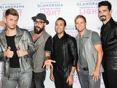 Backstreet Boys #metallic