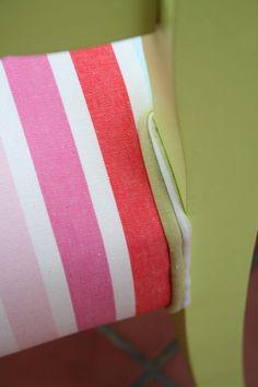 El bazar VINTAGE + CHIC: lámparas, muebles y objetos decorativos 100% vintage!: Pareja sillas lima y rosa (ref. 8071) [] Lime and pink chairs (ref. 8071)