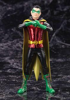 Batman: Robin (Damian Wayne) New 52 ArtFX+ Statue