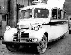 Eminönü - Fatih otobüsü 1940'lı yıllar