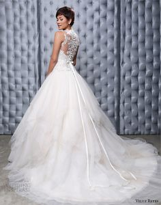 veluz reyes 2014 bridal georgina wedding dress illusion beaded back