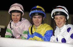 Joseph O'Brien, Gary Carroll, and Ben Curtis! 3 very good young jockeys!