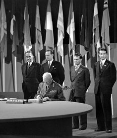 The San Francisco Conference, 25 April - 26 June 1945: Union of South Africa Signs the United Nations Charter by United Nations Photo, via Flickr