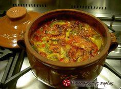 Γκιούλμπασι #sintagespareas Greek Cooking, Yummy Mummy, Mediterranean Recipes, Greek Recipes, Chili, Recipies, Food And Drink, Soup, Tasty