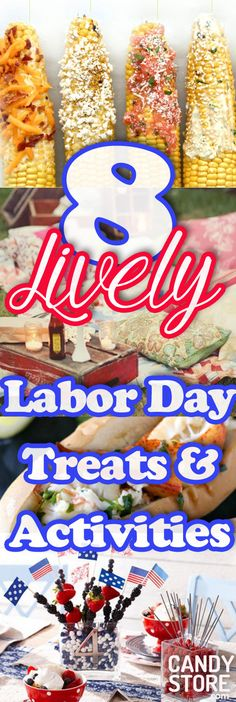 8 Lively Labor Day Treats & Activities - CandyStore.com