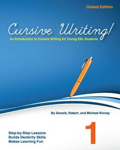 This is a download freebie!  Download the first five pages of Cursive Writing and try them out in class!  The full textbook takes students from the basic alphabet to writing larger passages. You'll be able to guide students' hands as they learn the loops and curlicues of the cursive alphabet, how to sign their name, or write a pen pal letter.