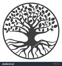 stock-vector-tree-of-life-yggdrasil-world-tree-290775074.jpg (1500×1600)