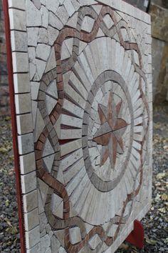 Patio Stone, Brick Architecture, Plastic Canvas Crafts, Mosaic Art, Backyard Landscaping, Flooring, Landscape, Outdoor Decor, Ideas