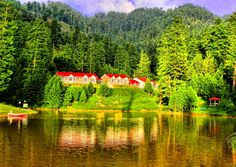 Banjosa is an artificial lake and a tourist attraction near the city of Rawalakot in District Bagh in Azad Kashmir. The lake is surrounded by densely pine forest and mountains, which make its very charming and romantic.