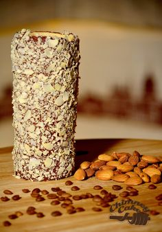 A tip when using almonds. Bake the kurtos as normal. Sprinkle on crushed or sliced almond pieces and THEN pop it BACK into the oven to toast the almonds. Another option would be to toast the almonds before applying, in a tray under the grill.. Our creation by our customer in Saudi sure looks good though...