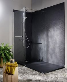 # Create # Deco # shower # some Large Bathrooms, Small Bathroom, Soaker Tub With Shower, Coffee Shop Interior Design, Best Bathroom Designs, Bathroom Ideas, Home Decor Furniture, Sweet Home, Bathtub