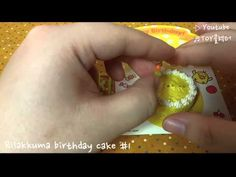 [Re-ment] SAN-X) Rilakkuma birthday cake #1 - YouTube Rement, Rilakkuma, Birthday Cake, San, Youtube, Collection, Birthday Cakes, Youtubers, Cake Birthday