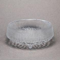 Iittala Ultima Thule footed small bowl Finland