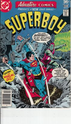 Adventure Comics 454 November 1977 Issue DC by ViewObscura