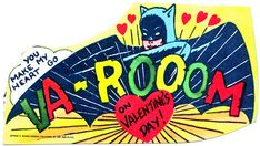 Highly Disturbing 1966 Batman Valentine You Can Print And Give [Pics]