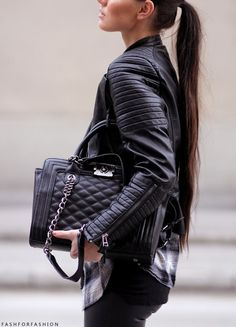 #Leather #Street #Style
