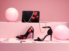 Find your dancing feet and waltz into the festive season in heart-adorned heels
