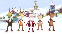 Crazy santa dance