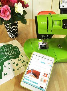 Giveaway für DIY-Queens: Toyota OEKAKI Nähmaschine
