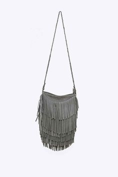Fashion Style Hobo Tassels Sling Bag | Tassels, Women's handbags ...