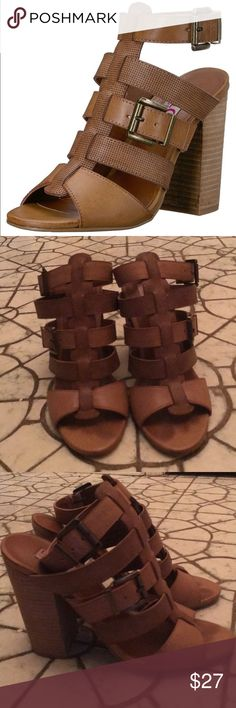 5a161588d548 Shop Women s Mojo Moxy Tan size 9 Sandals at a discounted price at Poshmark.  Description  DOLCE by Mojo Moxy Open Toe Casual Ankle Strap Sandals.