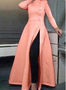 Make the heads flip after you dress up with this peach scuba party wear kurti. The ethnic Pattern to your apparel adds a sign of splendor statement for the look. Party Wear Indian Dresses, Pakistani Fashion Party Wear, Designer Party Wear Dresses, Kurti Designs Party Wear, Dress Indian Style, Kurta Designs, Long Dress Fashion, Indian Fashion Dresses, Indian Designer Outfits
