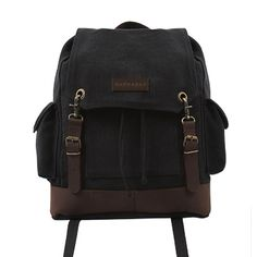 Expedition Canvas Backpack | Barnabas Clothing donates a 10% of ALL sales to Living Room International.