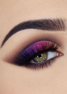 make-up;eye make-up;make-up tutorial;make-up appears to be like;eye make-up tut. Eye Makeup Steps, Makeup Eye Looks, Cute Makeup, Easy Eye Makeup, Bunny Makeup, Asian Makeup, Korean Makeup, Tutorial Sombra, Smokey Eyes Tutorial