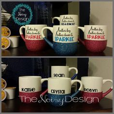 Another day, Another chance to SPARKLE 10oz coffee mug - pinned by pin4etsy.com