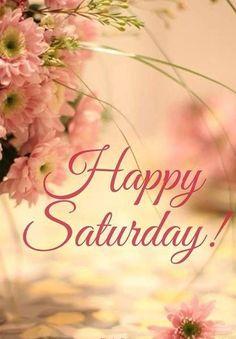 Happy Saturday! ❤️