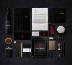 Cook Book Wine Bar on Behance