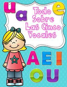 Las Cinco Vocales:  No Prep Spanish Literacy Center  from Bilingual Teacher World on TeachersNotebook.com (48 pages)