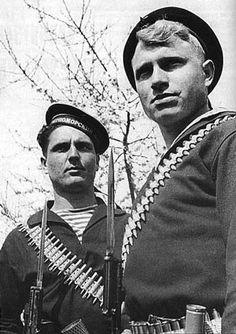 Soviet Red Navy Marines WWII.