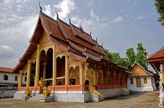 #Laos, Luang Prabang - UNESCO site