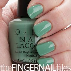 OPI Mermaid's Tears Nail Polish by The Fingernail Files (must have item!!)